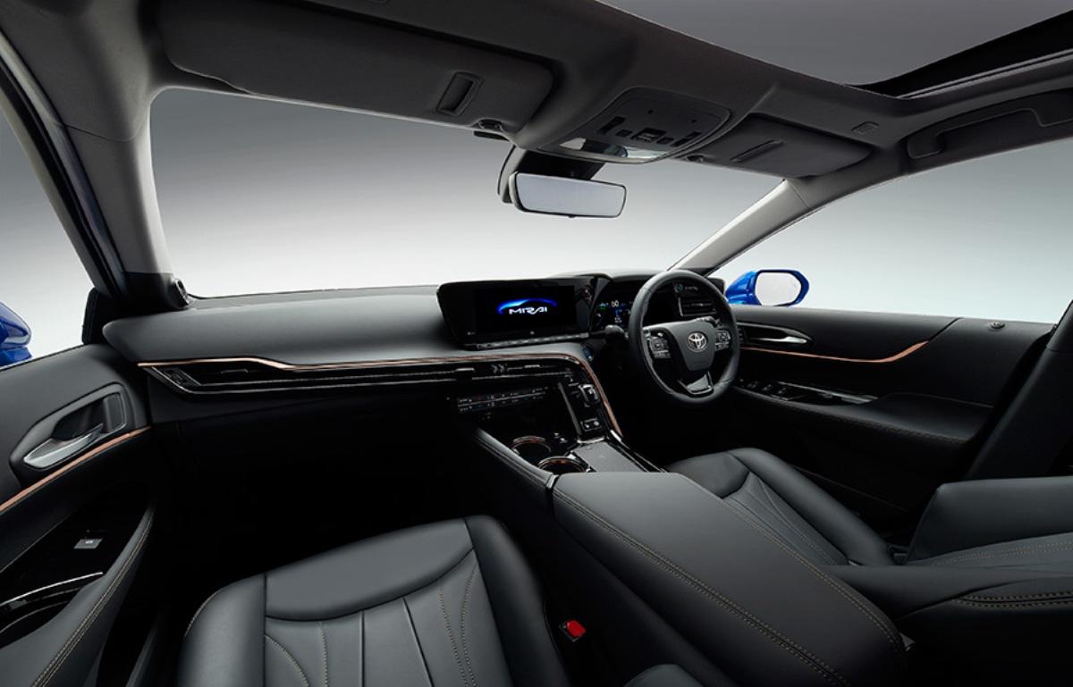Водородное авто получило новейшую мультимедийную систему с 12,3-дюймовым дисплеем