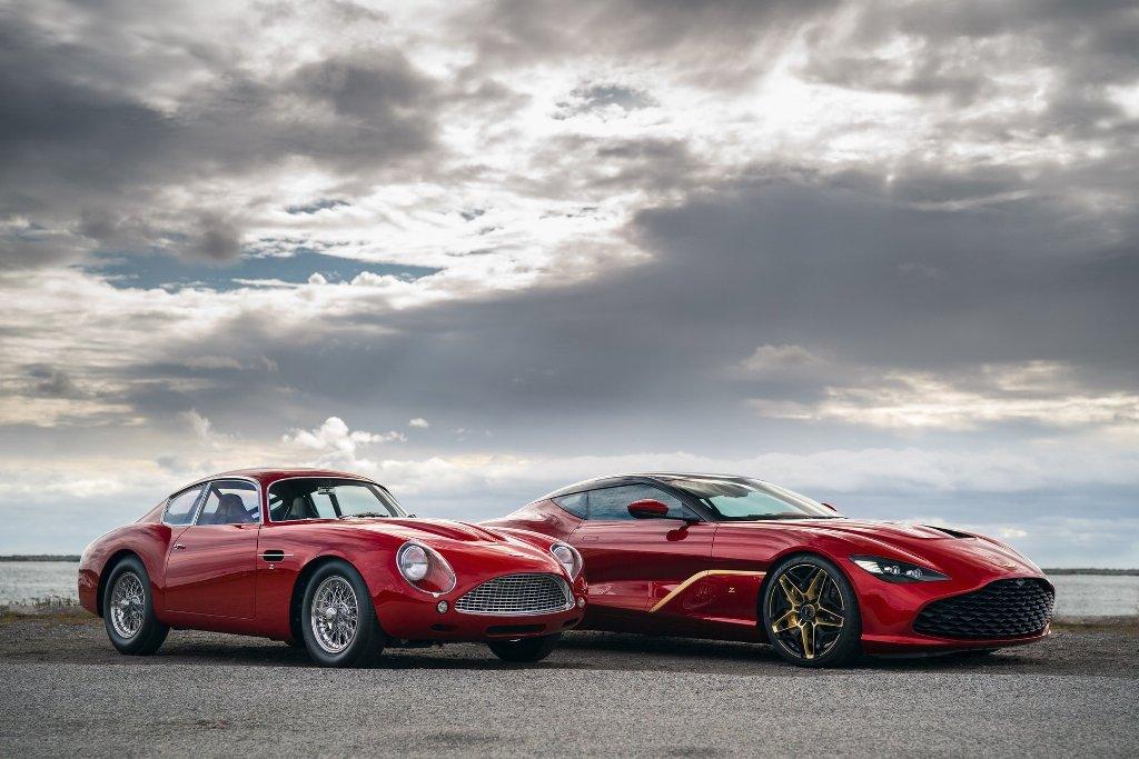 Суперкар DBS GT Zagato можно приобрести только вместе с раритетным DB4 GT Zagato Continuation