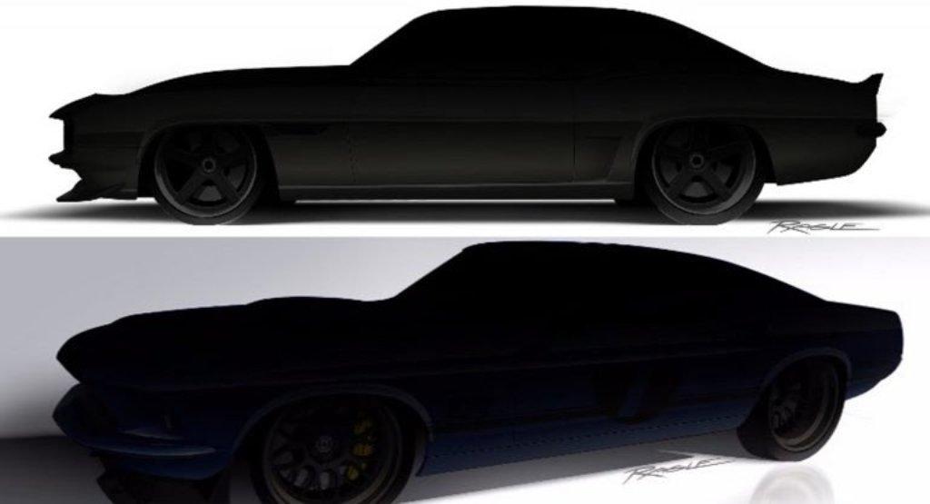 Тизер Camaro и Mustang