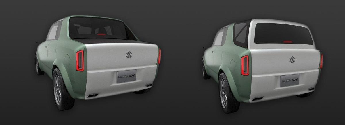 Автомобиль может трансформироваться из купе в универсал