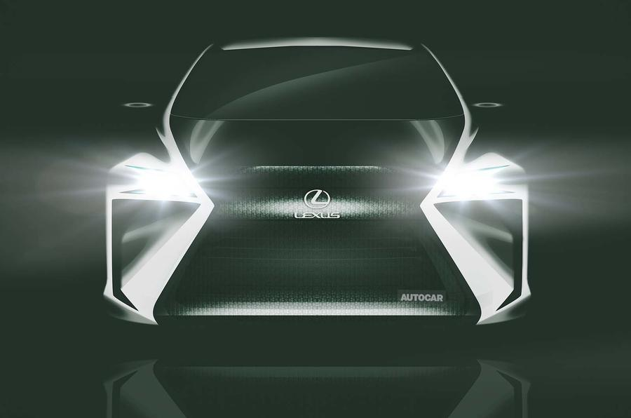 Концепт-кар Lexus Electric