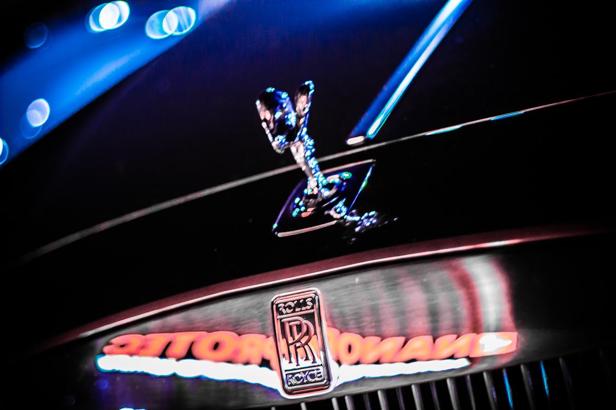Помимо привычных всем суперкаров, на мероприятии были представлены 2 Rolls-Royce