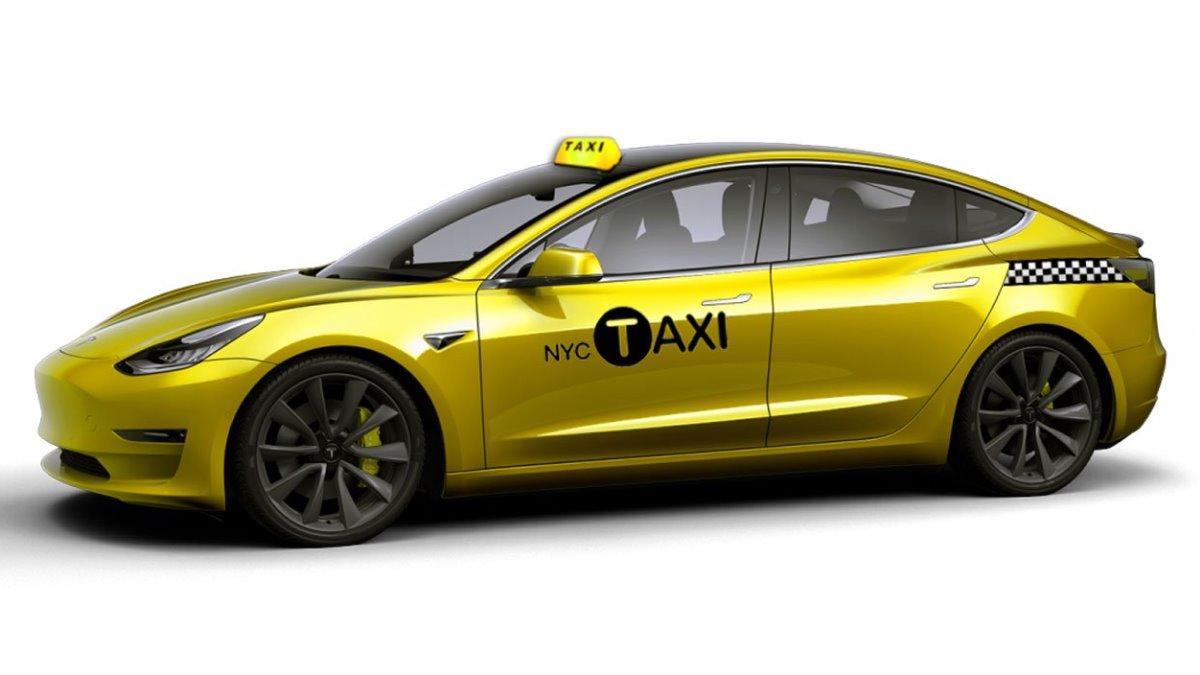 Tesla Model 3 превратят в такси