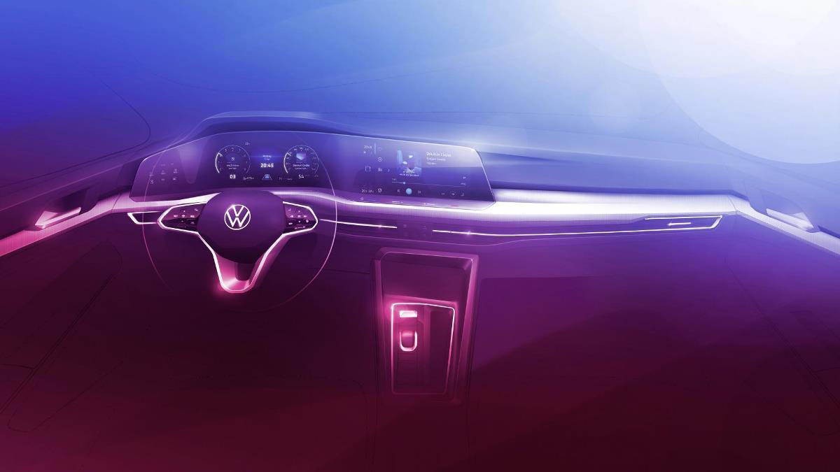 Помимо дизайна, производитель показал интерьер автомобиля