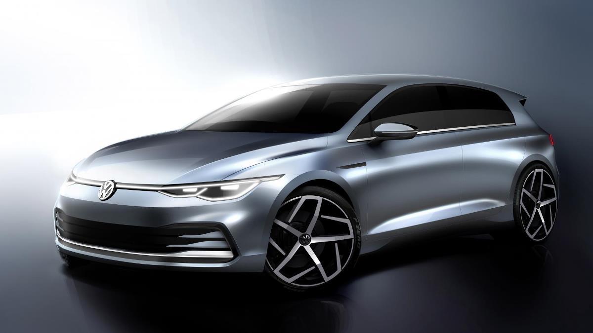 Volkswagen показал, каким будет новый Golf 8