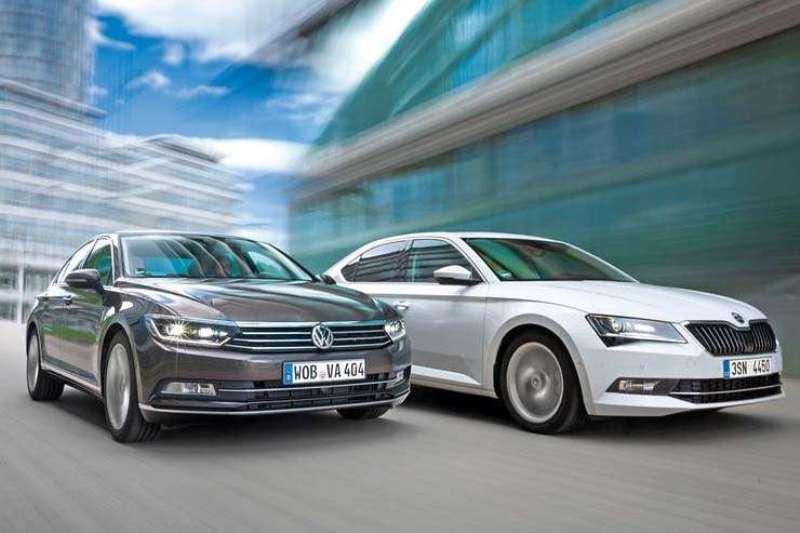 VW Passat и Skoda Superb