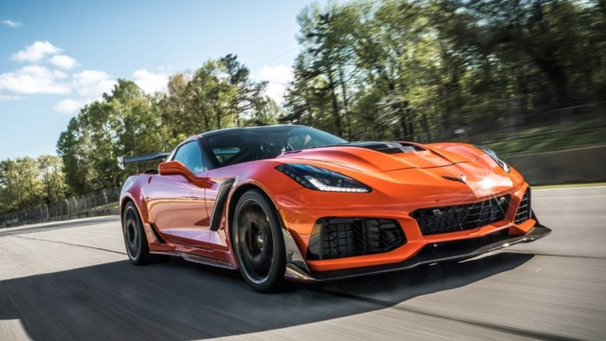 Chevrolet Corvette получит экстремальную версию ZR1 ...