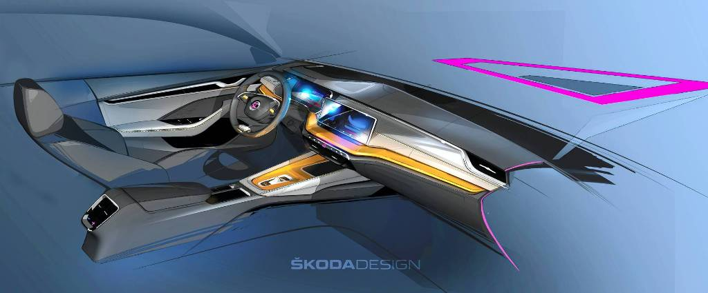 Интерьер новой Skoda Octavia