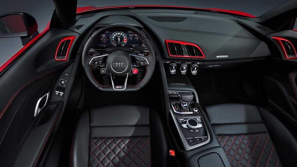 Новый Audi R8 с задним приводом