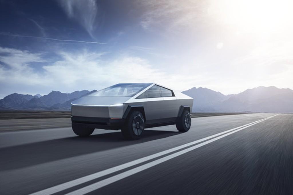 Cybertruck Tesla находился в разработке долгих семь лет