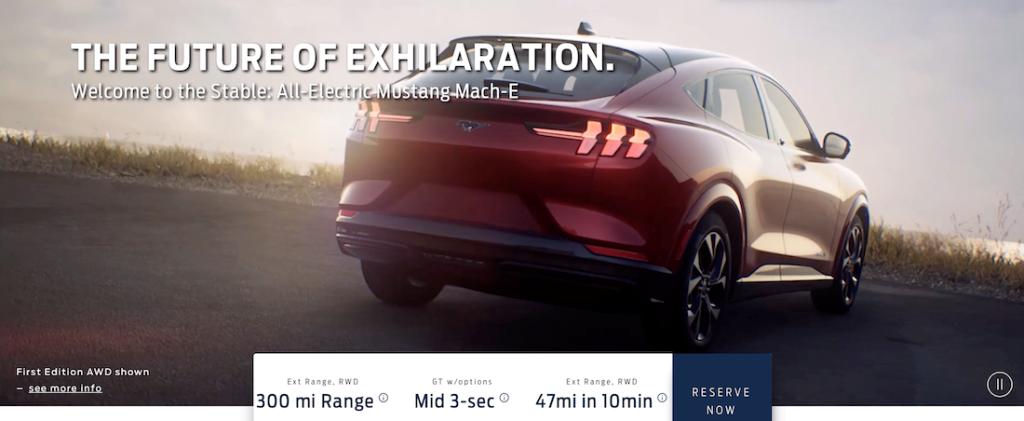 Впервые Mustang Mach-E покажут публике 17 ноября 2019 года на автосалоне в Лос-Анджелесе