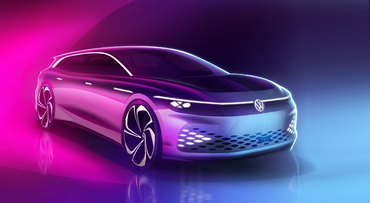 Volkswagen представит новый концепт-кар на шоу в Лос-Анджелесе