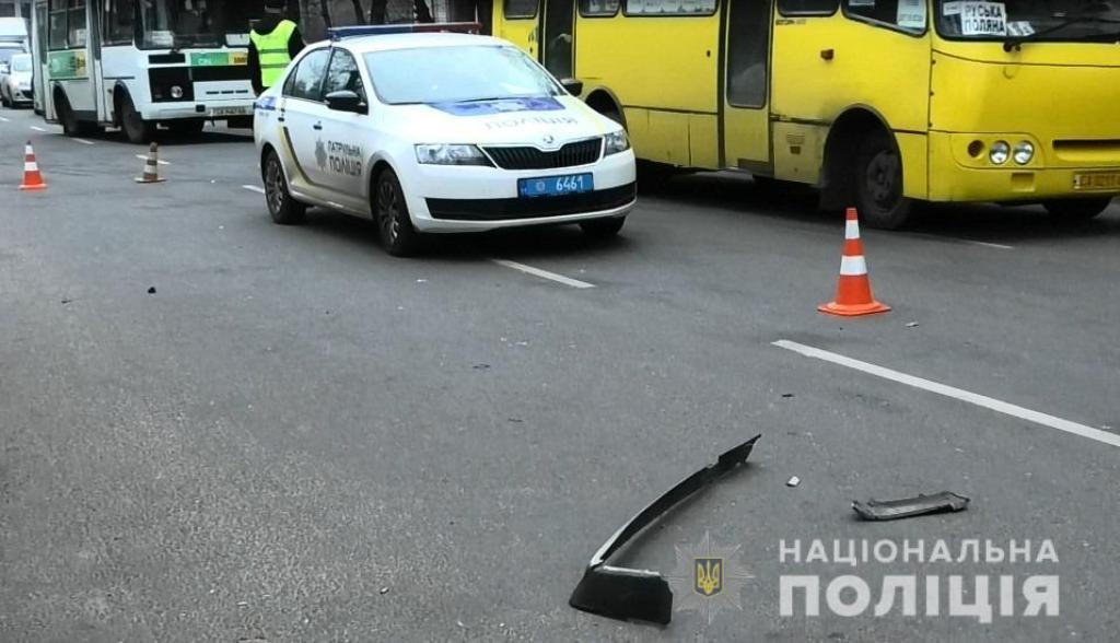 Виновник аварии попытался скрыться, но был задержан свидетелями инцидента