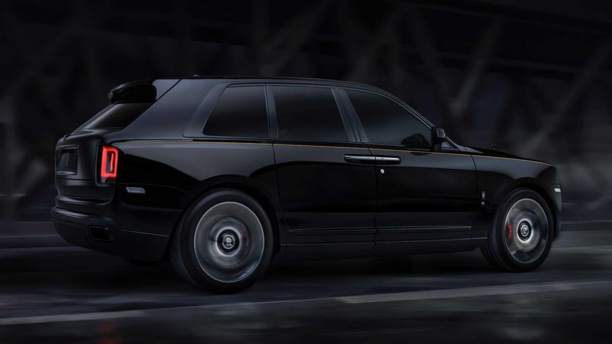 Rolls-Royce показал специальную комплектацию для кроссовера Cullinan