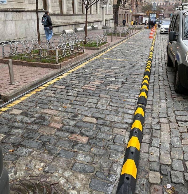 Позже появится еще четыре аналогичные парковки
