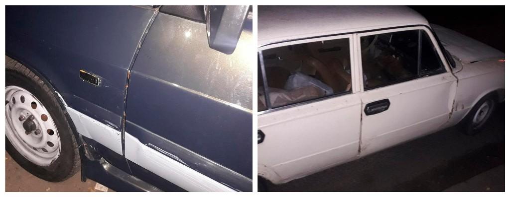 Пьяный водитель ВАЗа допустил столкновение с другим авто