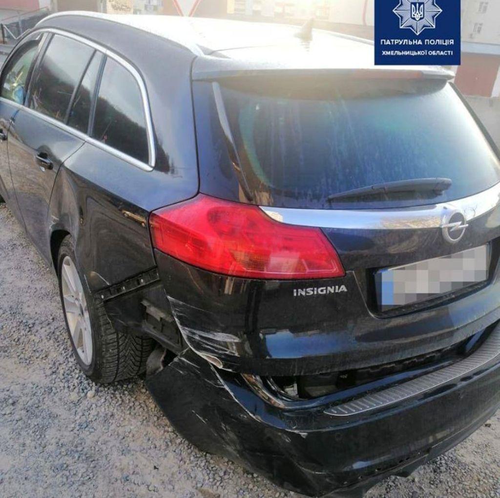 Виновник аварии покинул место ДТП