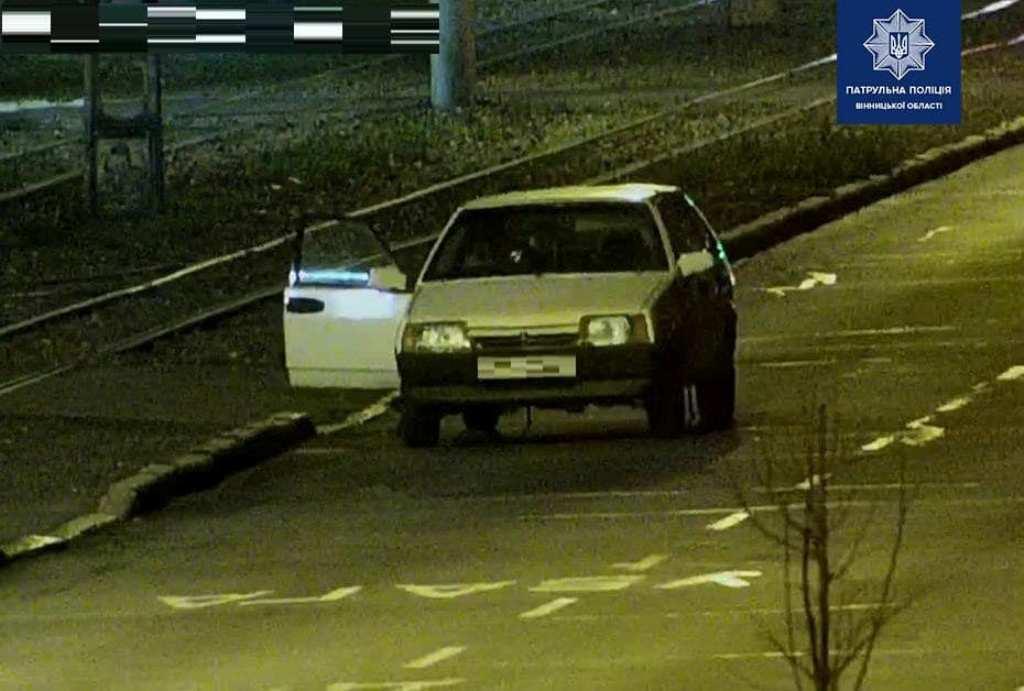 Водитель пытался уйти от преследования, но был задержан полицией