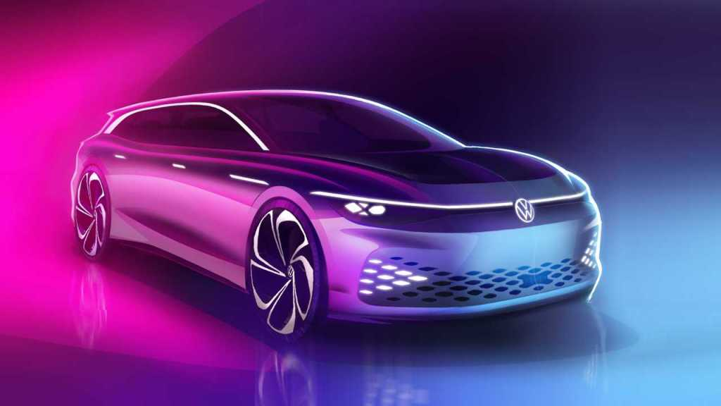 Volkswagen Space Vizzion concept