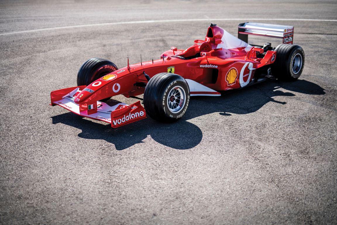 Ferrari F2002 №219 ушла с молотка за 6,7 миллиона долларов