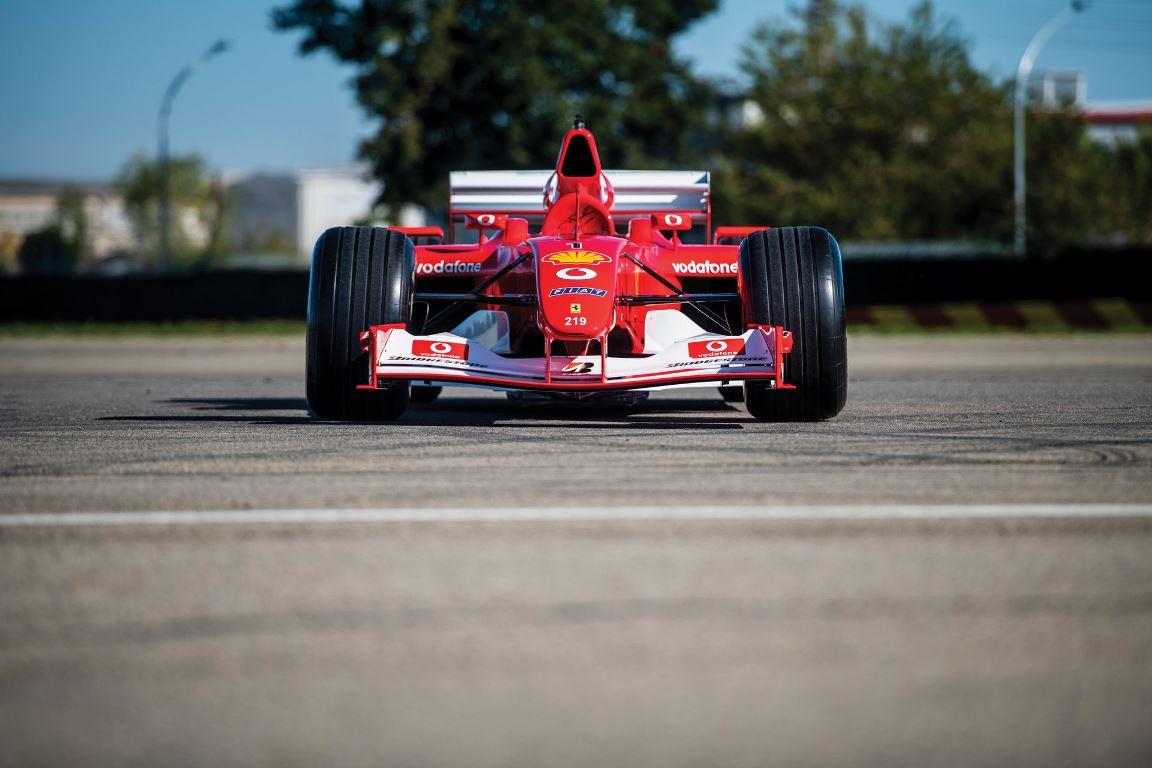 За рулем этой Ferrari Михаэль Шумахер стал чемпионом мира в 2002 году
