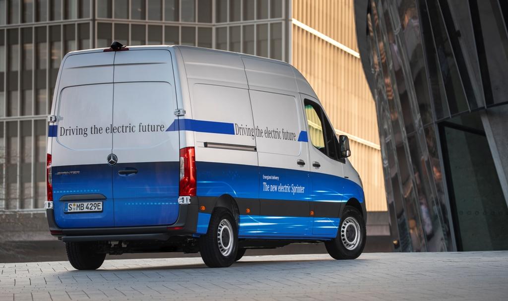 Фургон идеально подойдет для городской логистики