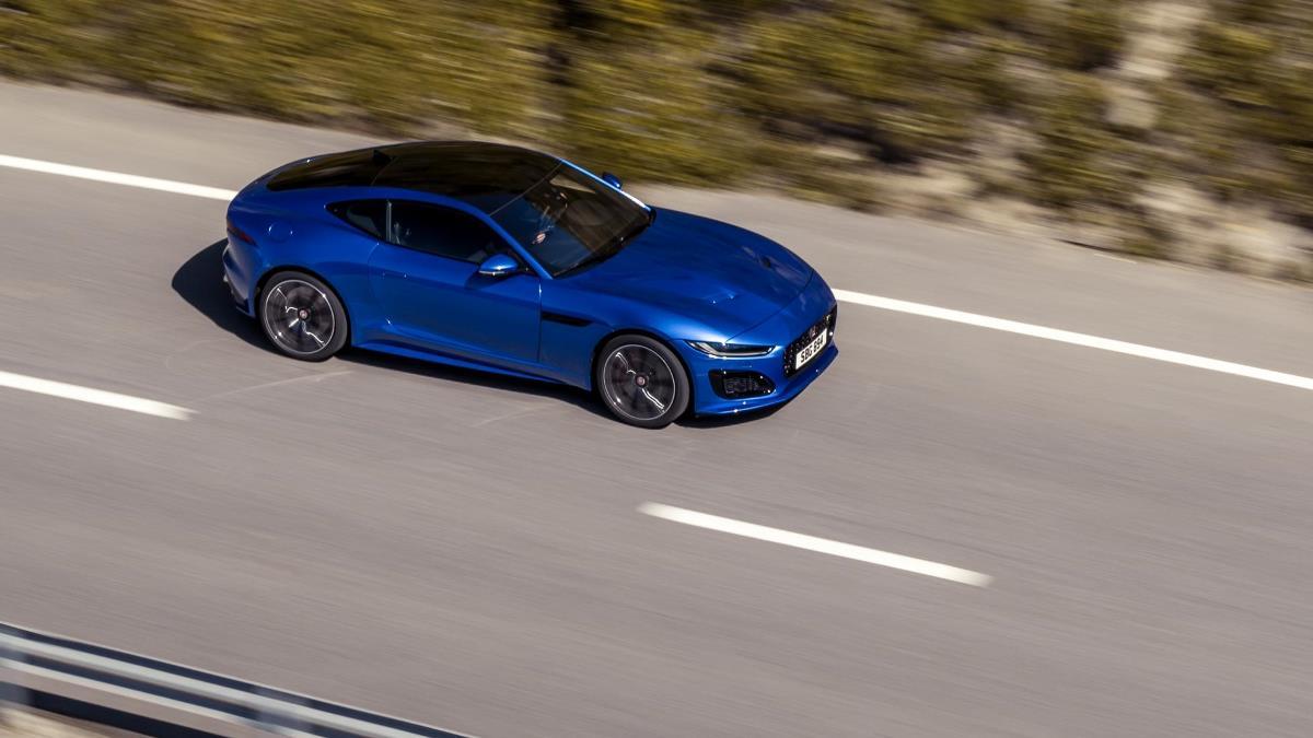 Jaguar представил обновленное купе F-Type