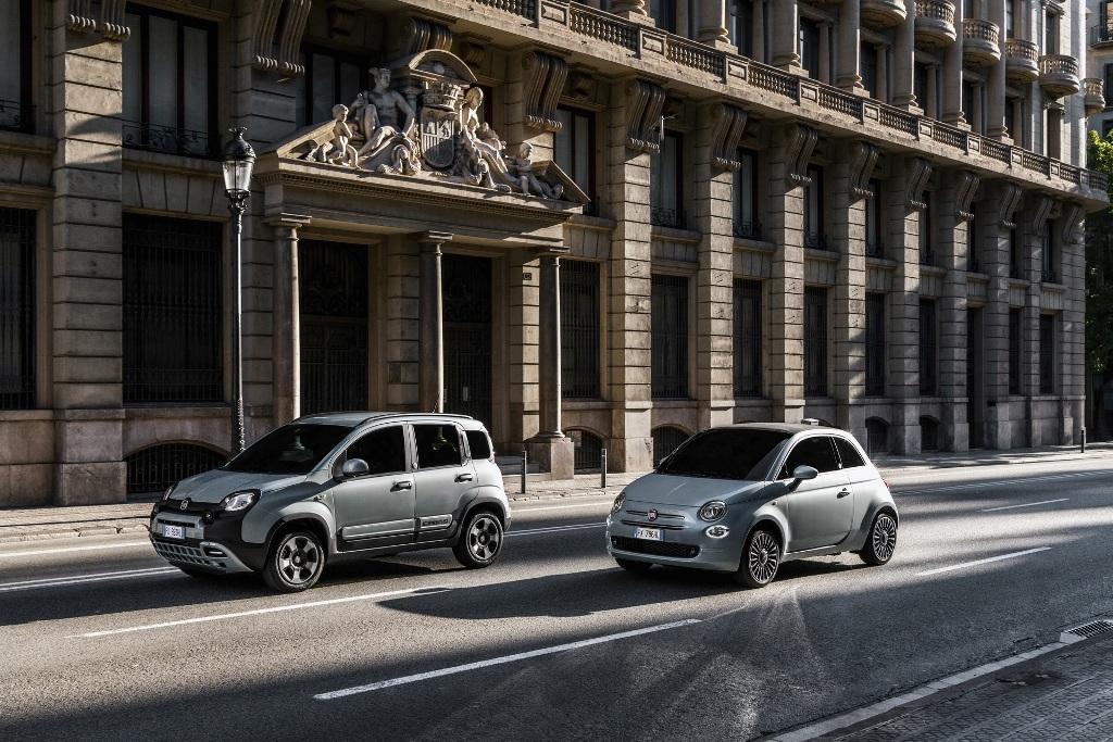 Fiat 500 и Panda Hybrid