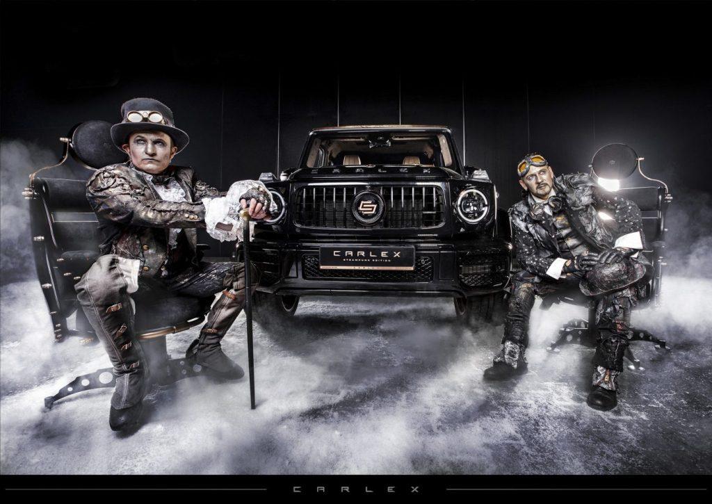 Mercedes G63 Steampunk Edition