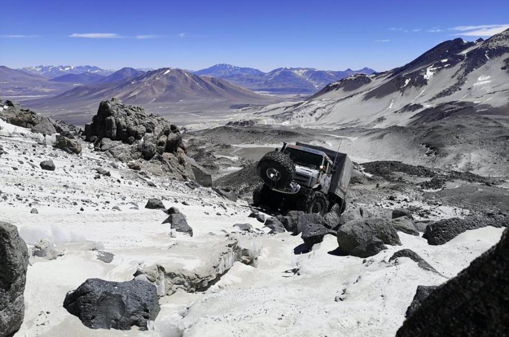 Новый мировой рекорд был установлен на вулкане Охос-де-Саладо
