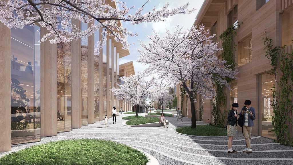 Он будет построен в Японии у подножия годы Фудзияма и займет площадь около 70 гектаров