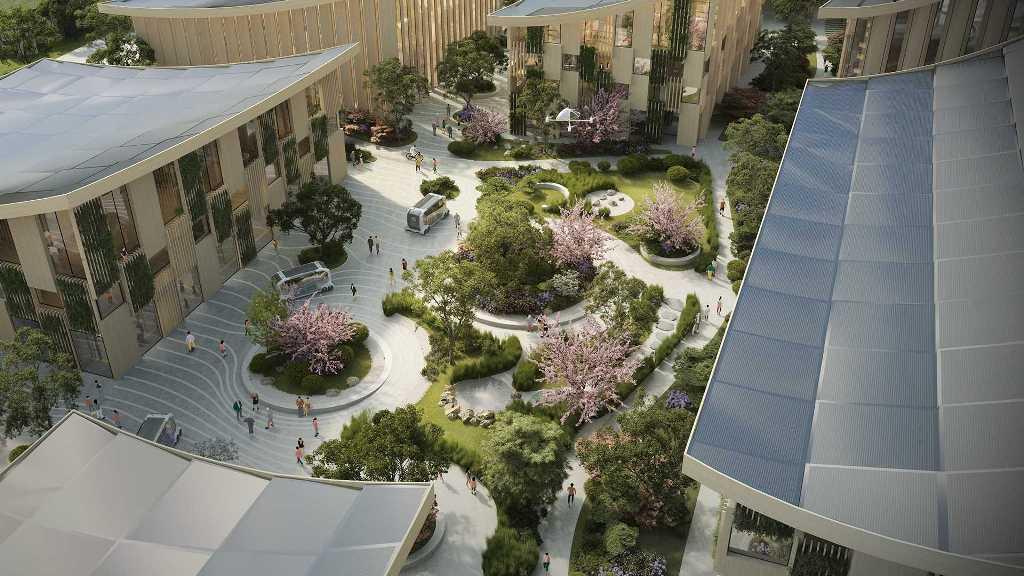 Первые резиденты смогут заехать в Woven City уже в 2021 году