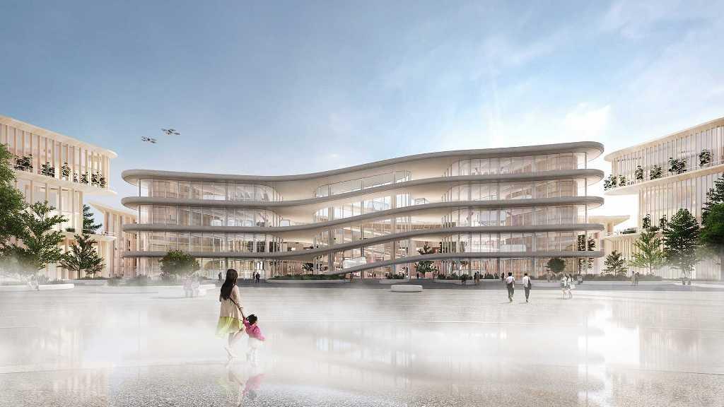 Над дизайном города работал датский архитектор Бьярке Ингельс