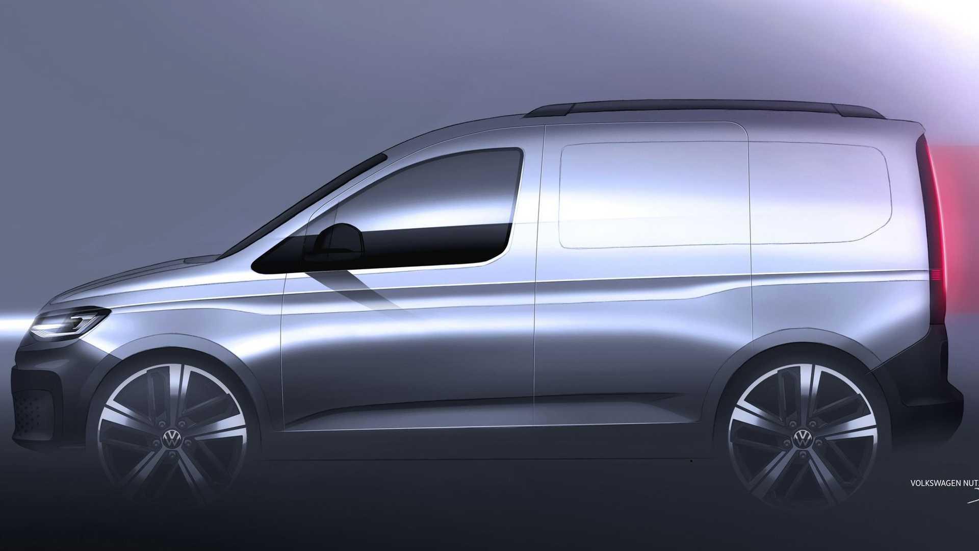 Volkswagen Caddy пятого поколения