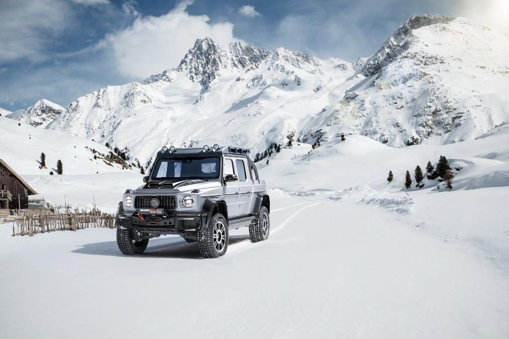 Модель получила название Brabus 800 Adventure XLP