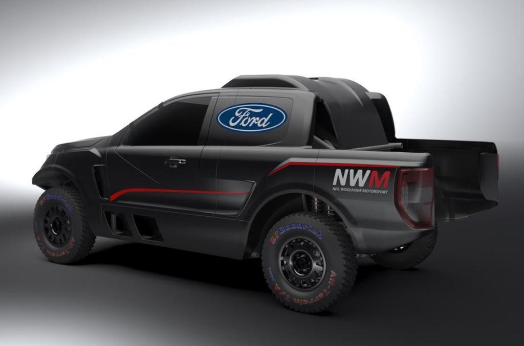 Модифицированный пикап получил 3,5-литровый двигатель Ford EcoBoost V6 с двойным турбонаддувом