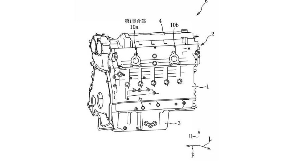 Mazda запатентовала совершенного новый рядный шестицилиндровый мотор линейки Skyactiv-X