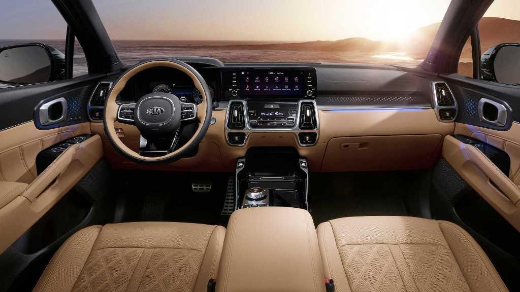 Салон нового Kia Sorento стал самым продуманным среди современных моделей компании