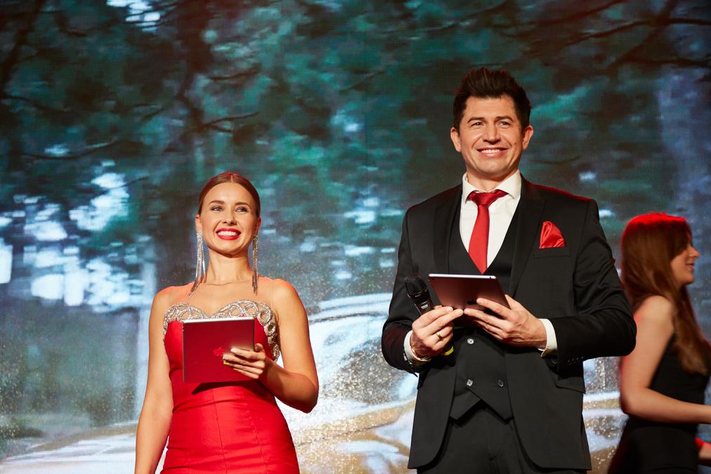 Церемония состоялась в отеле Fairmont в Киеве