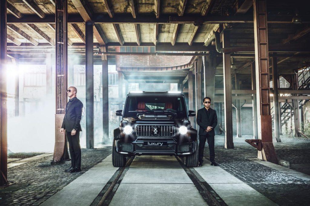Бронированный Mercedes-Benz G-class