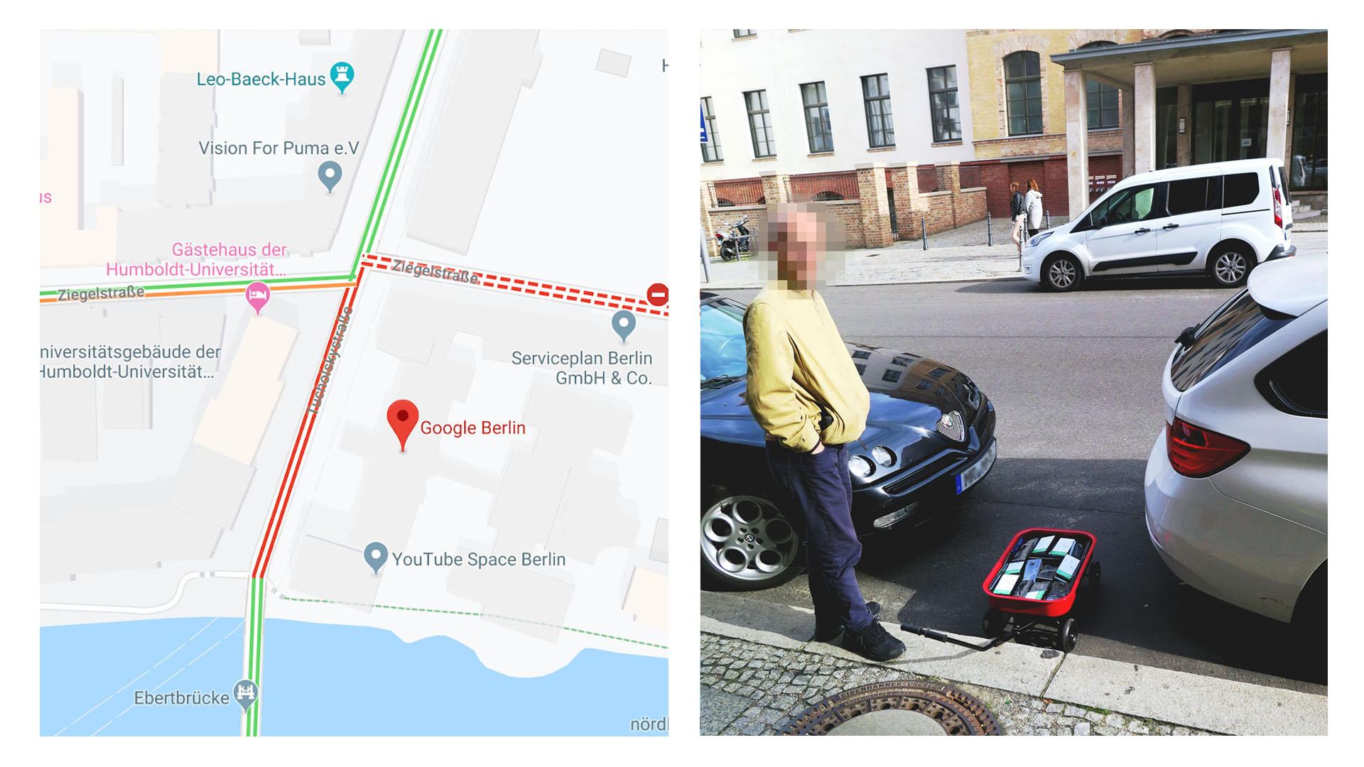 """При этом реальных автомобилей на данном участке практически не было, так как водители объезжали эти улицы, опасаясь несуществующей """"тянучки"""""""