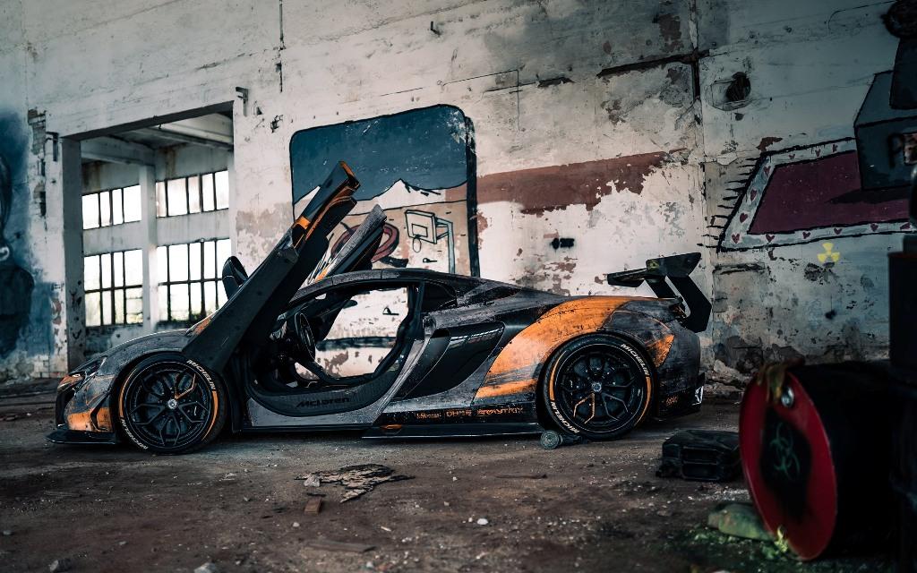 Модифицированный McLaren 650S выглядит так, как будто он пережил техногенную катастрофу или апокалипсис