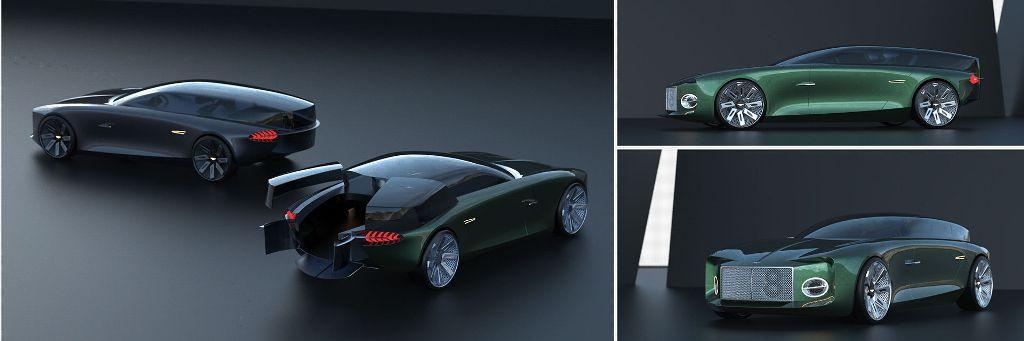 Рендер модели создал известный автомобильный дизайнер Джозеф Робинсон