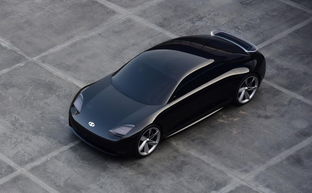 Hyundai Prophecy основан на новой EV архитектуре и впечатляет своими сбалансированными чистыми линиями кузова