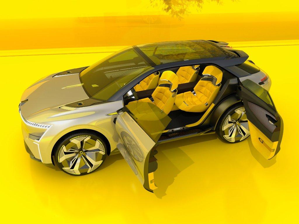 """Renault Morphoz получил автопилот 3-го уровня, встроенную связь 5G и """"умную"""" батарею"""