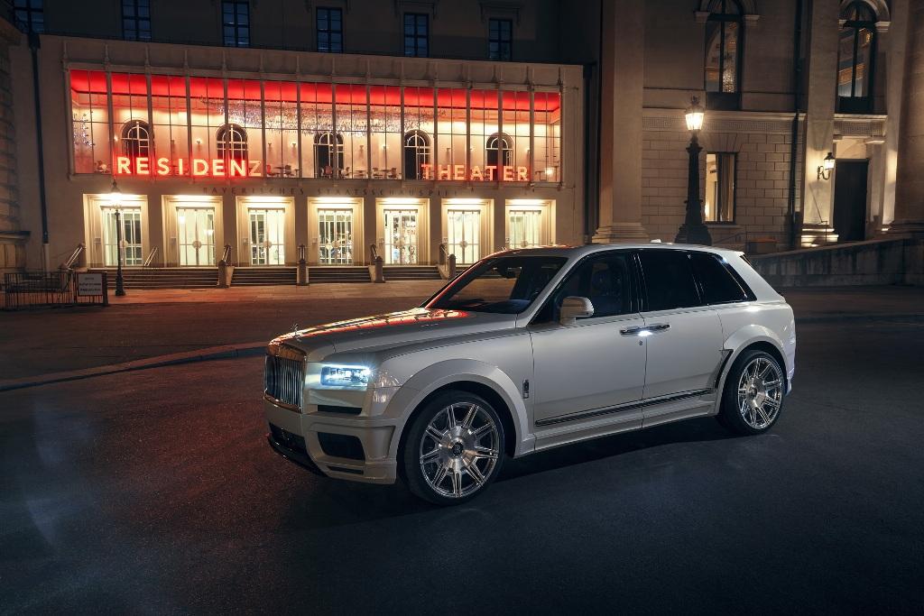 Rolls-Royce Cullinan от Spofec