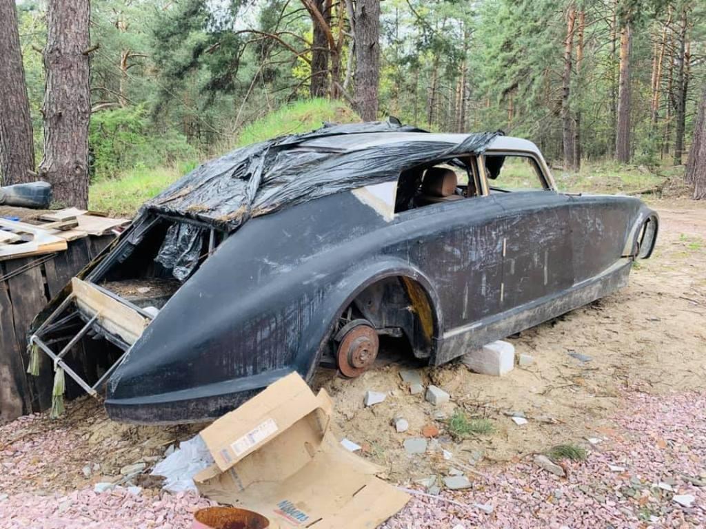 Редкую модель обнаружили в Вышгородском лесу под Киевом
