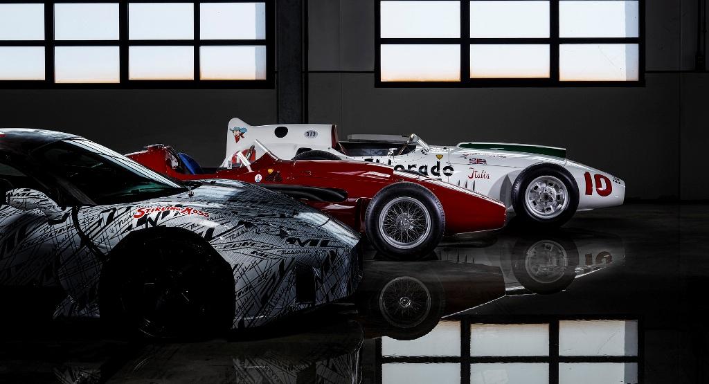 Раскраска суперкара МС20 отсылает к Maserati Eldorado