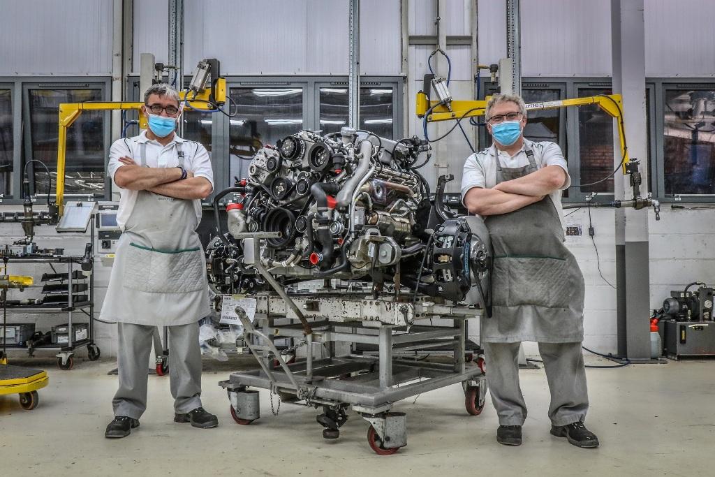 Легендарный Bentley V8 объемом 6,75 литра