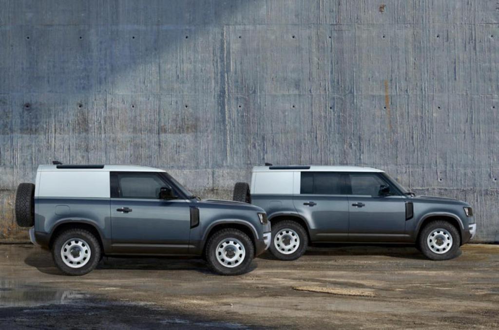 Внедорожник Defender Hard Top будет выпускаться в двух модификациях - трех и девятиместной